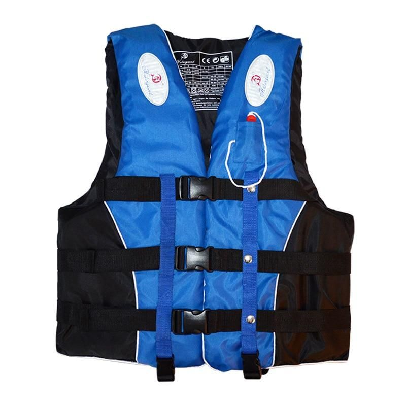 Professional Adult Life Jacket Vest Neoprene Rescue Swimming Drifting Surfing