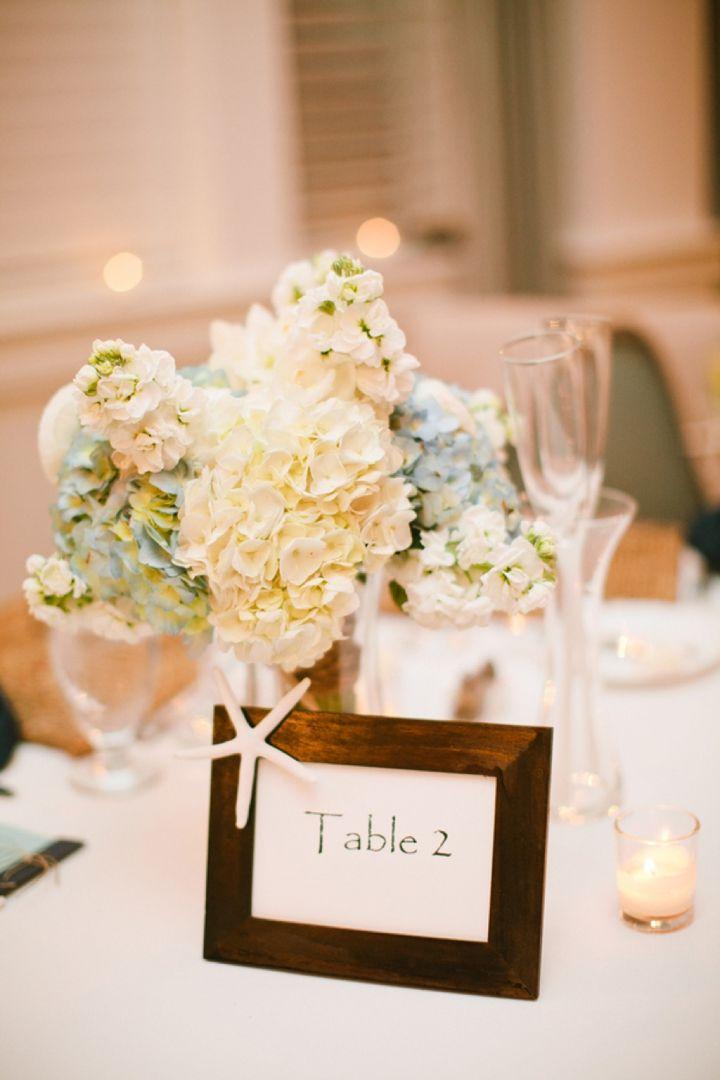hydrangea centerpiece |Powder blue hydrangea Wedding | Ispirazione primaverile: Ortensie azzurro polvere http://theproposalwedding.blogspot.it/ #wedding #spring #blue #hydrangea #matrimonio #primavera #ortensie #blu