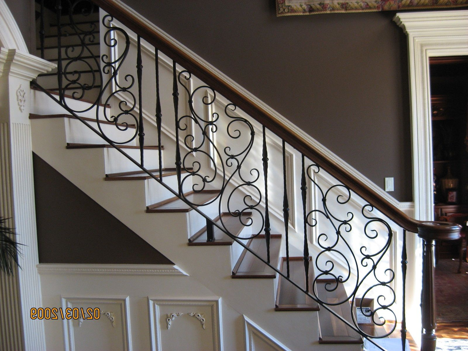 Best Breathtaking Rod Iron Railing Stair Railing Design 640 x 480