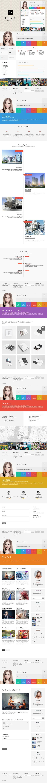 Resume CV Portfolio theme - Olivia. WordPress Portfolio Themes ...