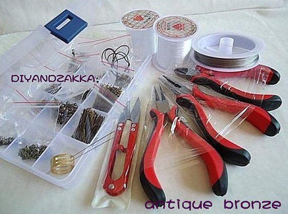 UD202--.Whole set for jewelry handmade tools. $19.90, via Etsy.