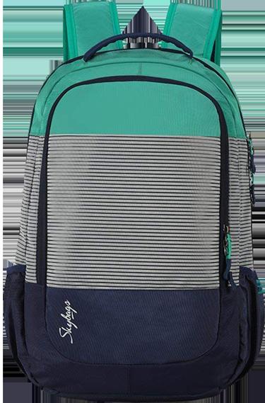 ddcf7d54937b Buy Skybags Zia 47 Ltrs Green Nylon Laptop Backpack (SBZIA01GRN ...