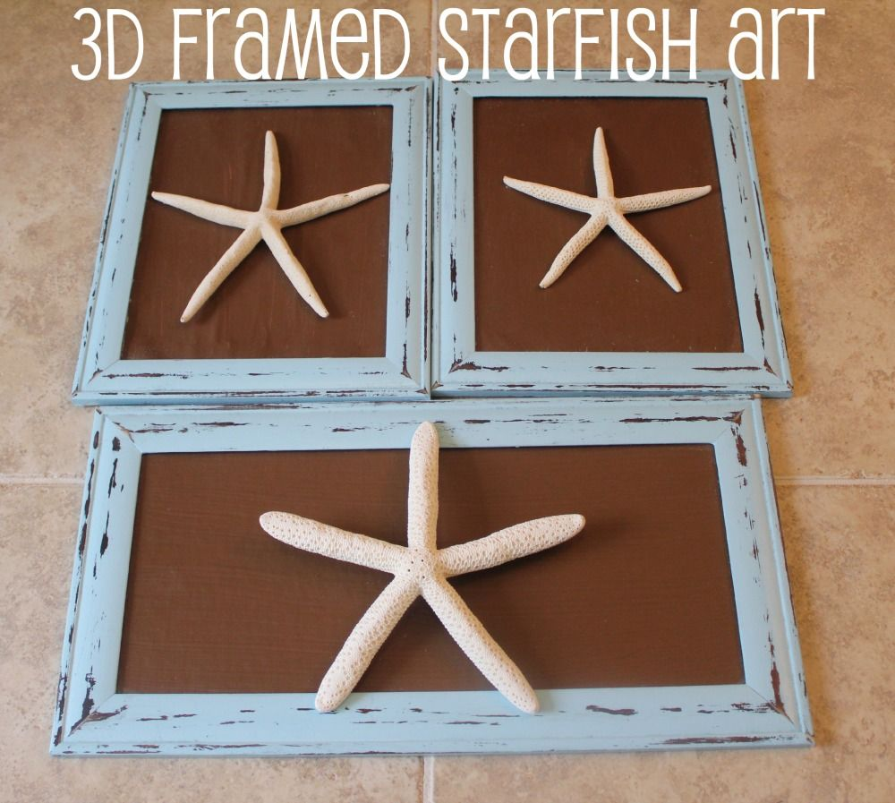 Starfish decorations for bathroom - Craft Ideas Using Recycled Materials Check Out More Details Http Starfish Decorationswall Decorationsdiy Bathroom
