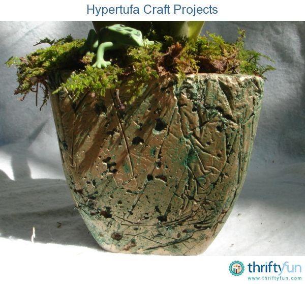 Cement Garden Art: Hypertufa Craft Projects