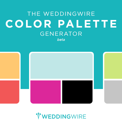 Weddingwire S Color Palette Generator Wedding Color Palette Generator Wedding Color Palette Color Palette Generator