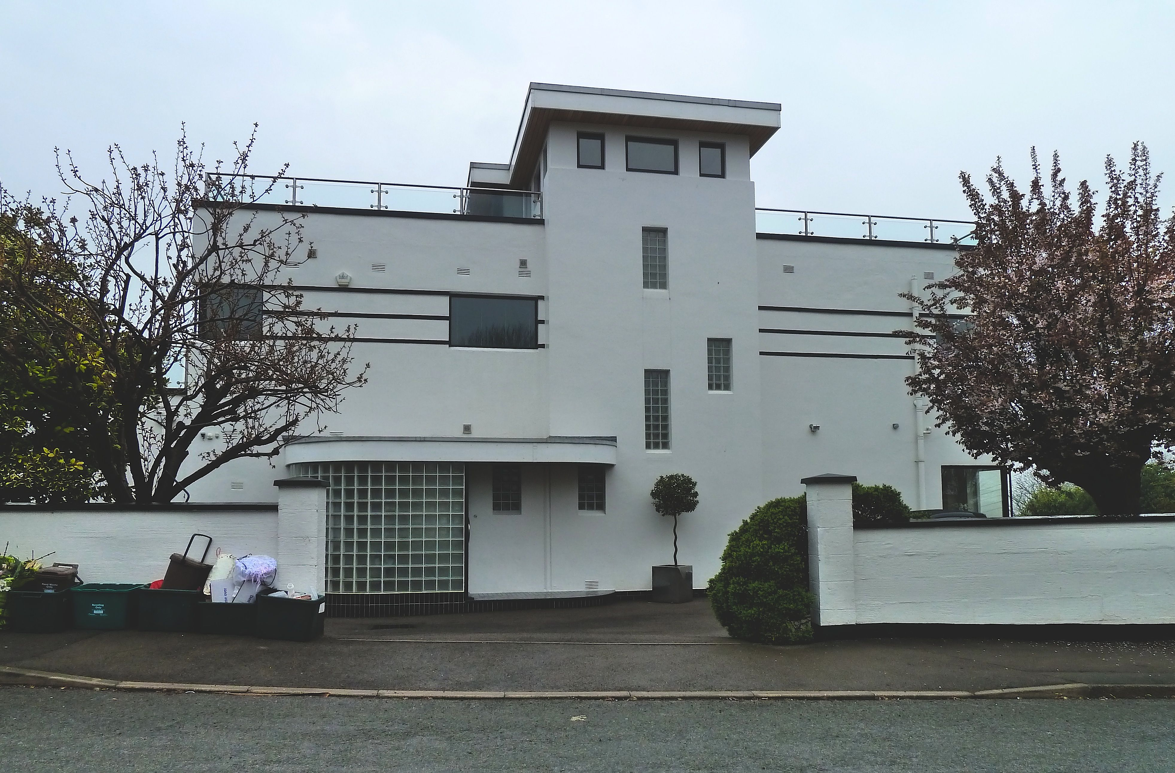1930s Moderne House Dial Hill Road Clevedon Somerset
