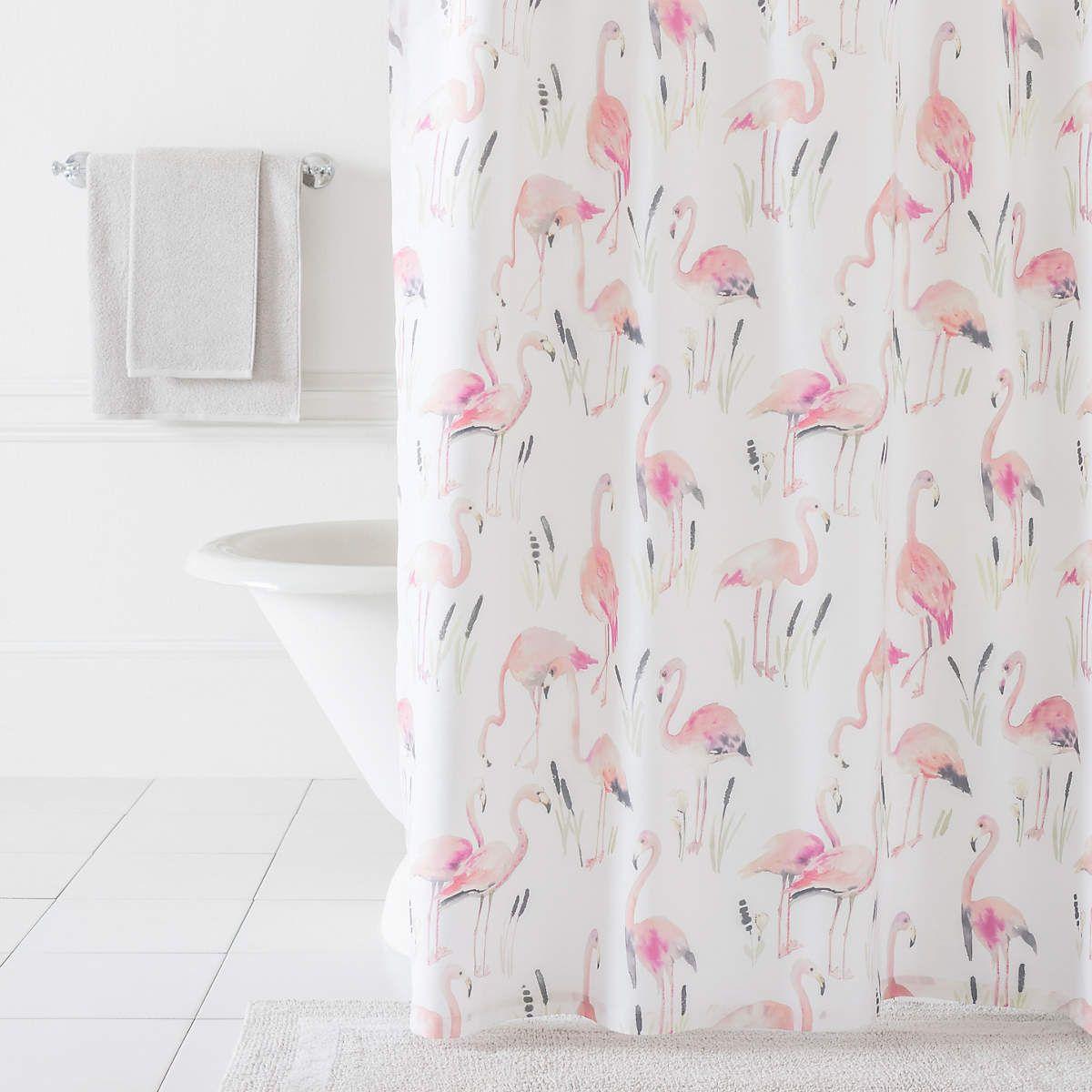 Flamingos Shower Curtain | Pink flamingos, Flamingo and Bright