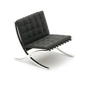 Designers Chair Barcelona Chair Black 1 12 Design Interior