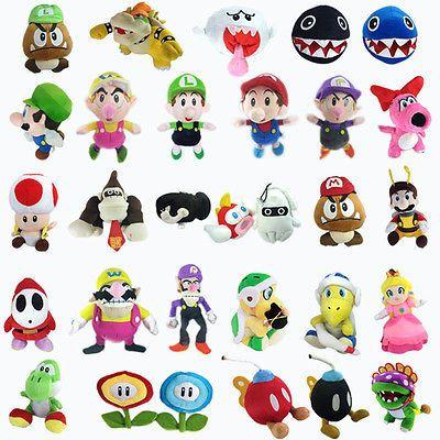 Nintendo Super Mario Bros Plush Character Soft Toy Stuffed Animal