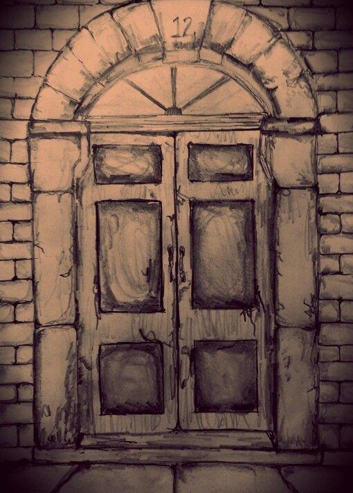 Vintage Door Sketches