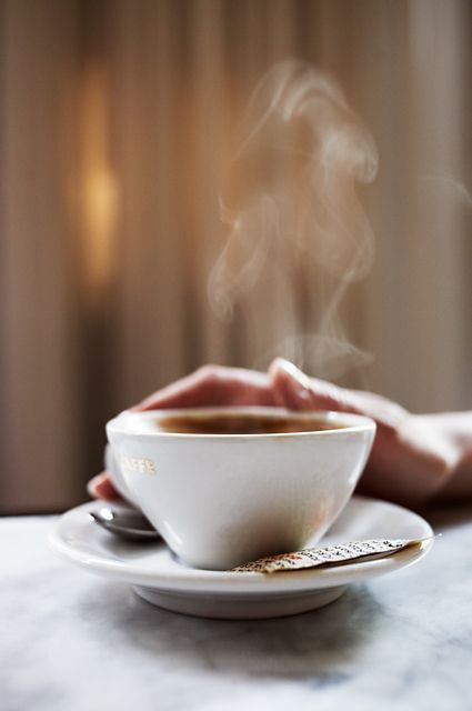 A Steamy Cup Of Hot Coffee Or Tea Always Makes Me Feel Better