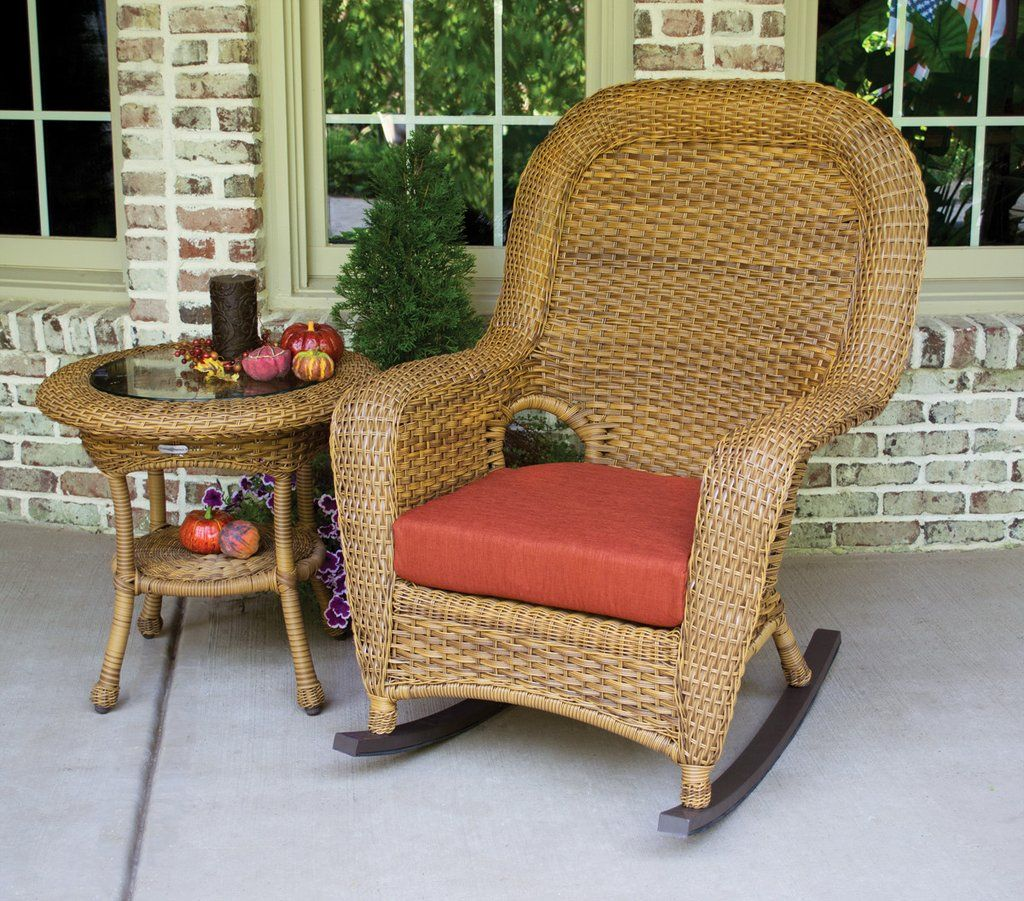 The Lexington Rocker is a showpiece to any outdoor space
