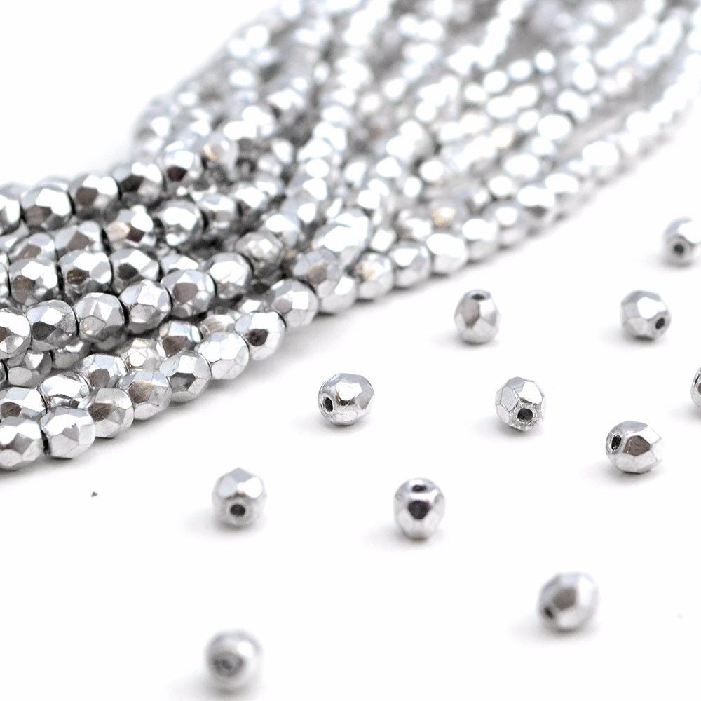 3mm- Full Silver