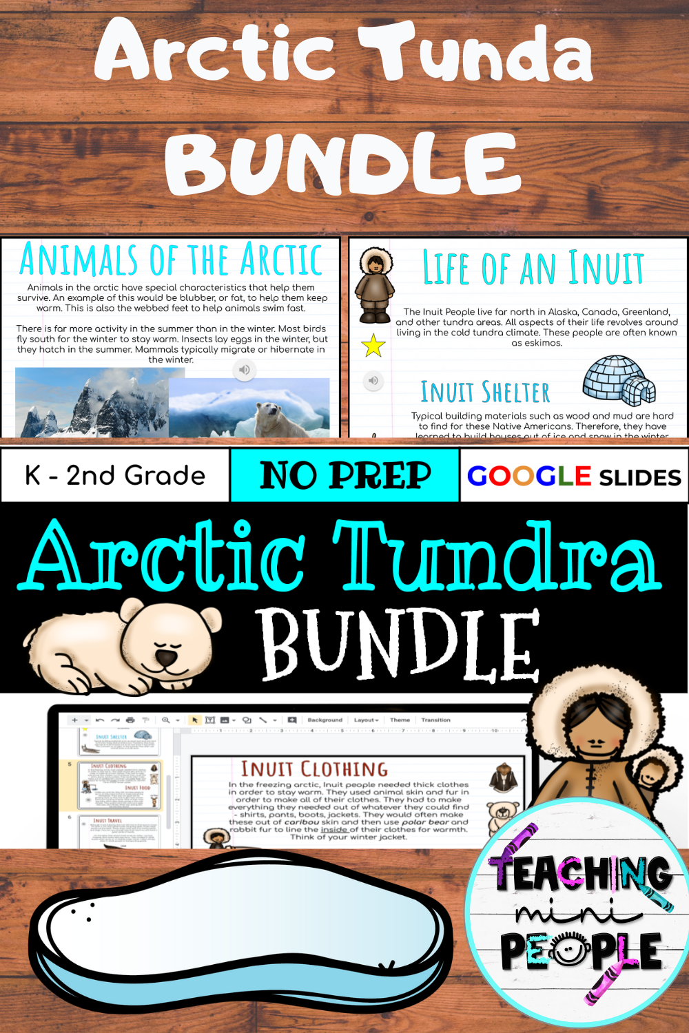 Arctic Tundra Biome Bundle Digital Notebook Distance Learning Google In 2020 Distance Learning Social Studies Elementary Social Studies Middle School