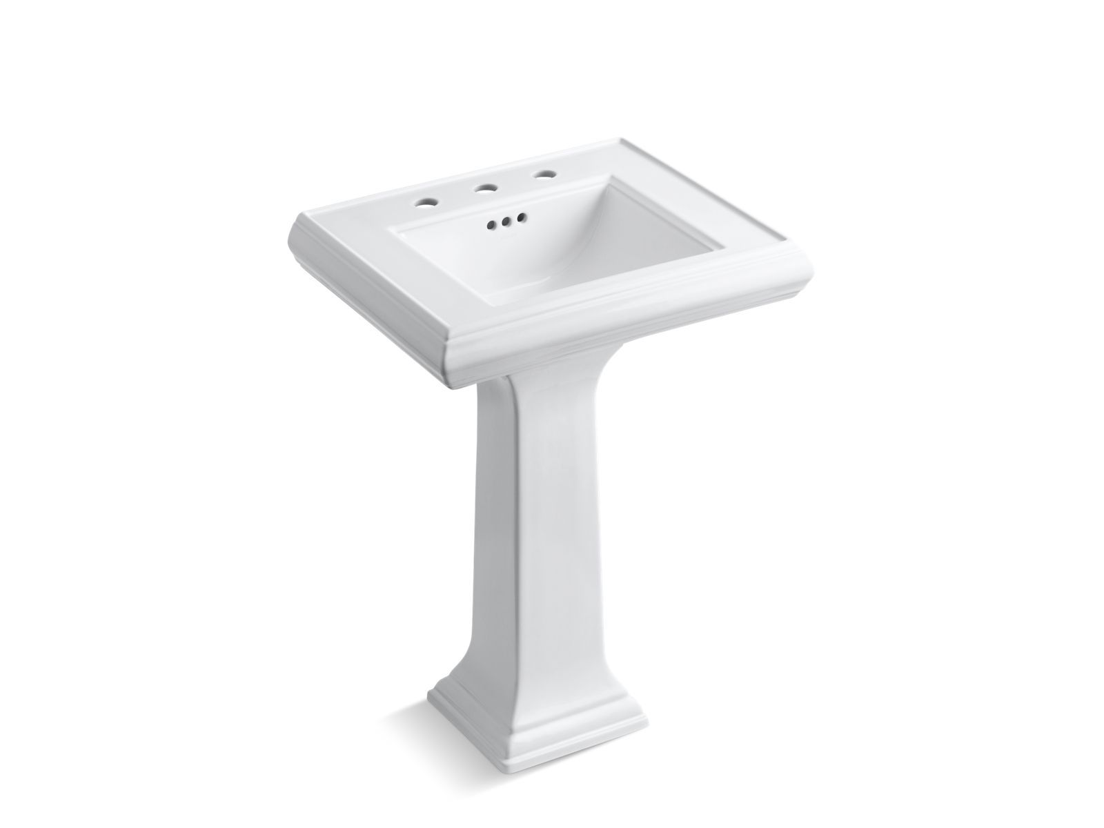 Memoirs Pedestal Sink With Classic Design 8 Inch Centers K 2238