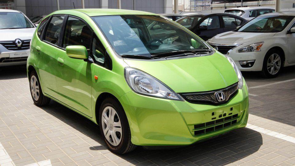 Honda Jazz I Vtec Lime Green 2013 Mint Imports Honda Jazz