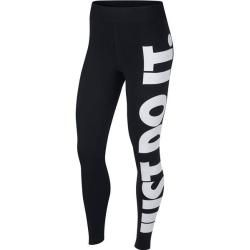 Nike Damen Leggings Leg-A-See, Größe L in Schwarz/Weiß, Größe L in Schwarz/Weiß Nike