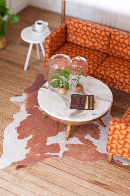 Diy Dollhouse Coffee Table Miniatures Pinterest Diy Dollhouse