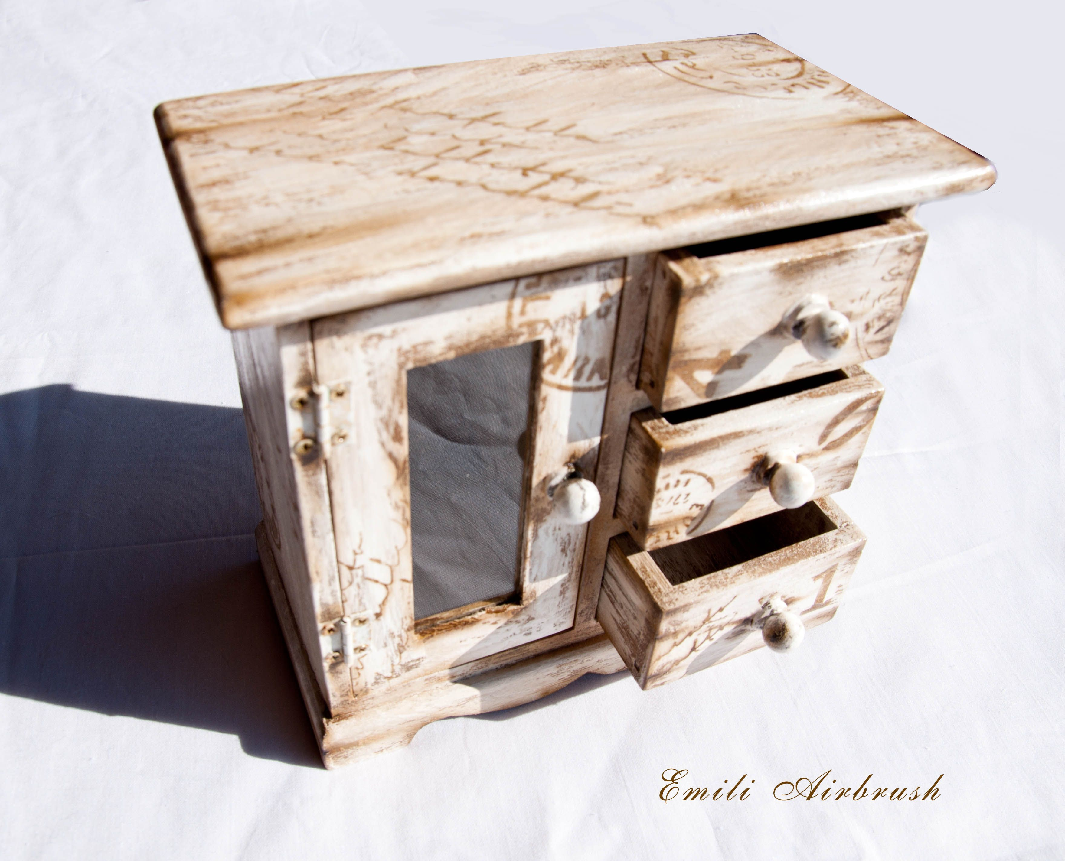 Shabby Look Jewelry Boxes Shabby Look Emili Design Handarbeit Unikat