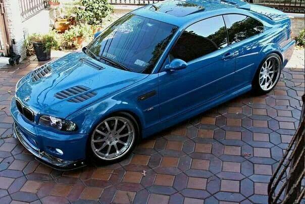 Bmw E46 M3 Blue With Images Bmw Custom Bmw Bmw E46