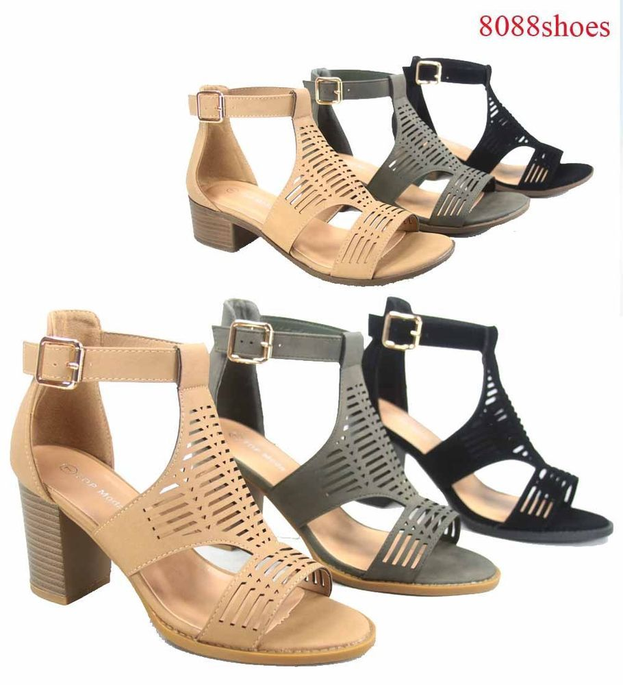 Cutout upper sides. and sides. upper Adjustable side buckle strap closure. Heel ... 1726be