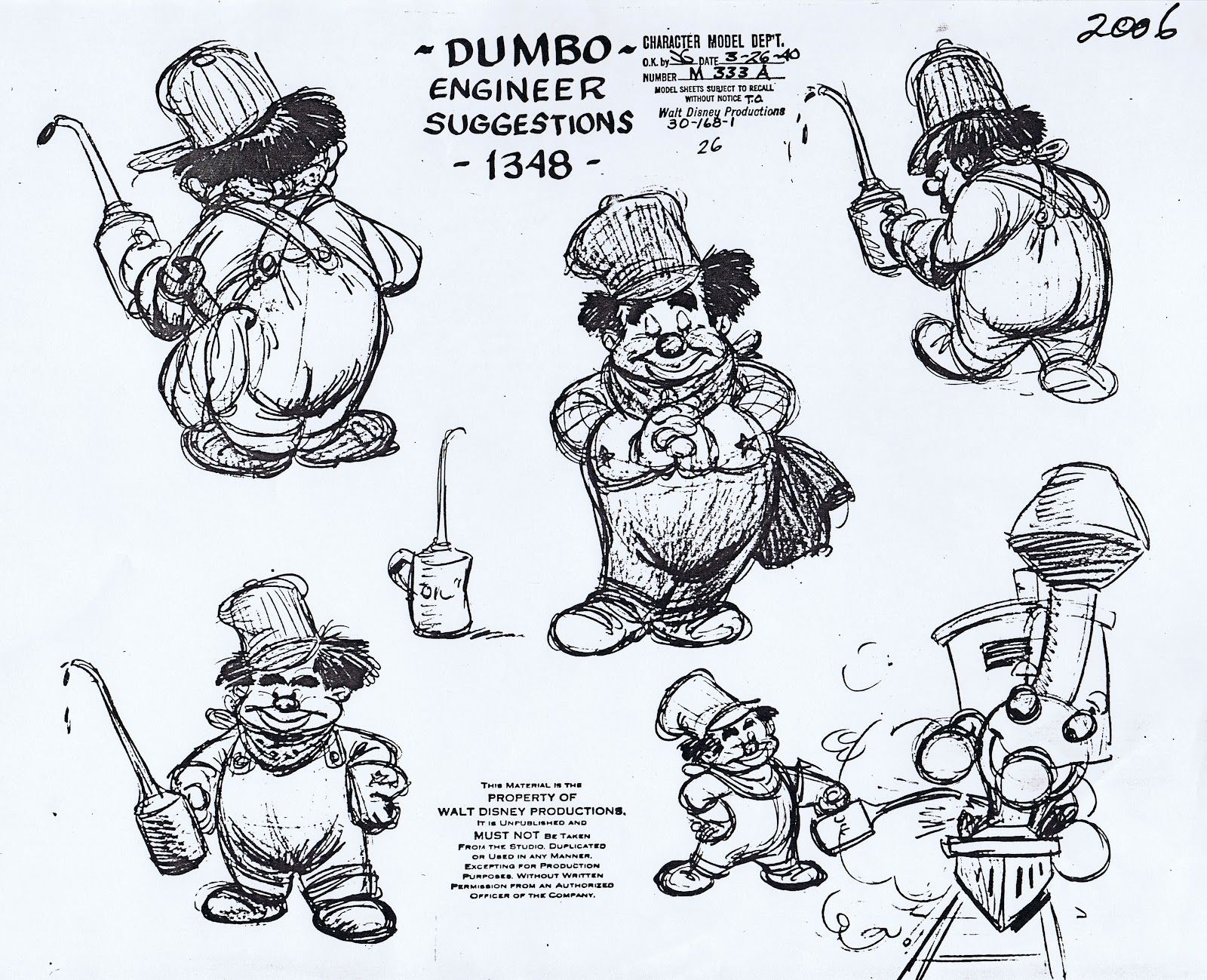 This Is A Model Sheet By My Favorite Animator Ward