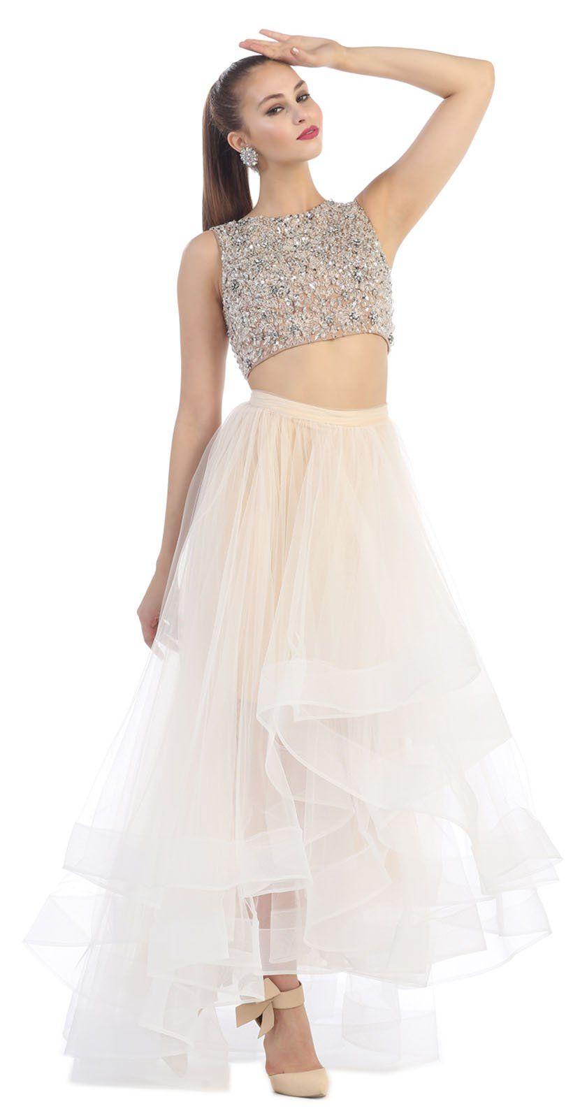 23603474a04 Royal Queen RQ7398 Two Piece Semi Formal Dance Dress (8