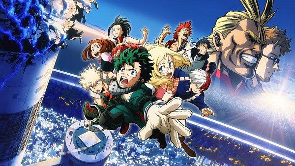 Boku No Hero Academia The Movie Futari No Hero 3840x2160 4 240 Kb My Hero Anime Hero Wallpaper