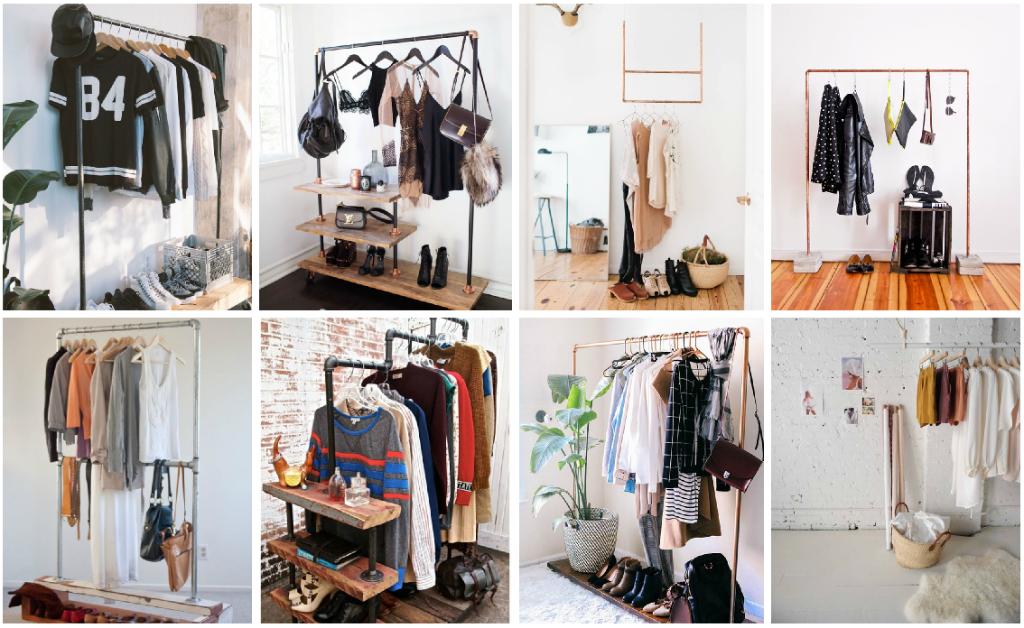 6 ideas para organizar tu ropa cuando no tienes cl set - Organizar armarios ropa ...