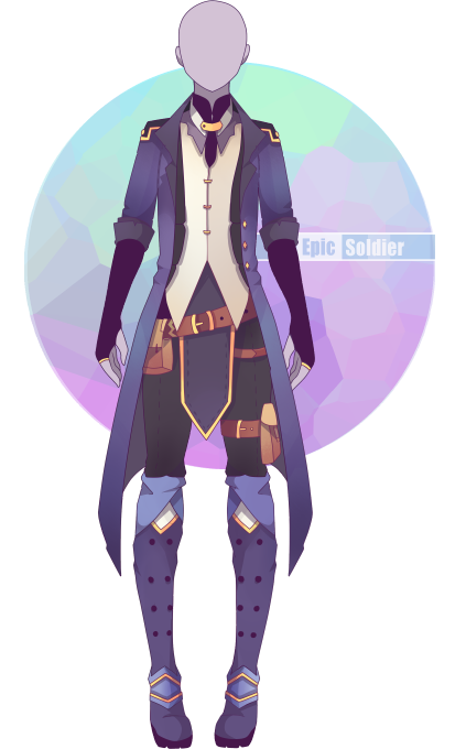 custom outfit commission 43 by epicsoldier anime