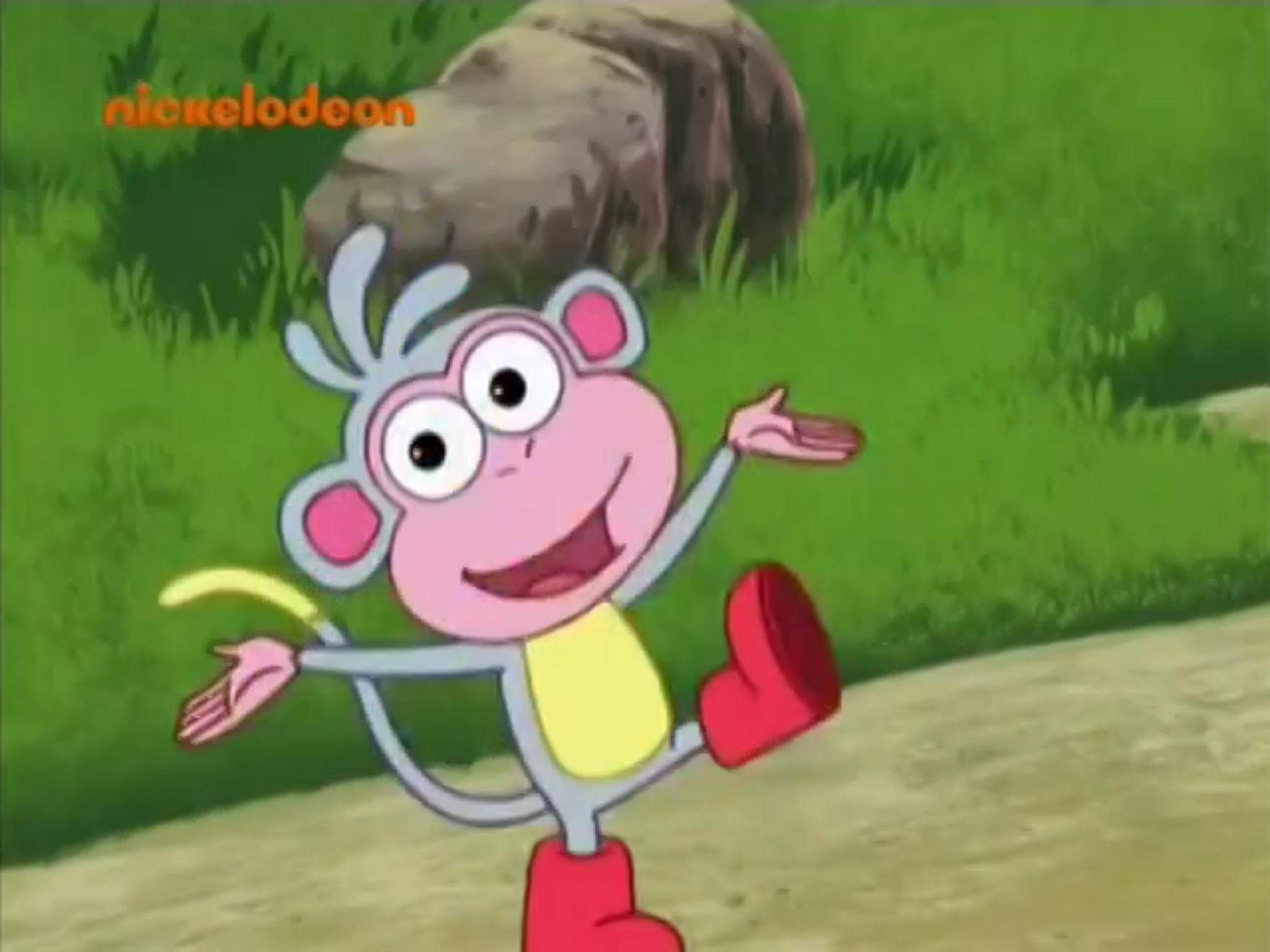 Dora the Explorer Boots the Monkey (Character Voice)