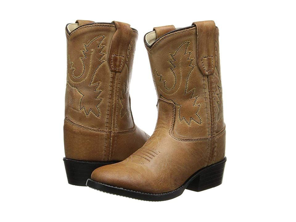 ec9400c8e97c7 Old West Kids Boots Western Boot (Toddler) Cowboy Boots Tan Canyon ...