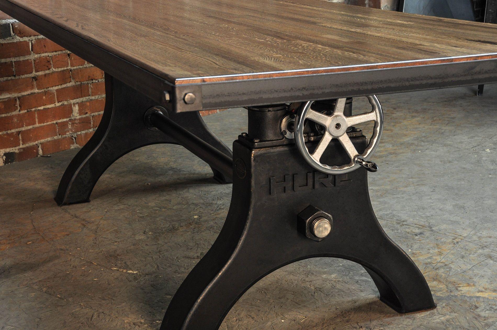 Dining Table | Vintage Industrial Furniture | Art Studio Dreams ...