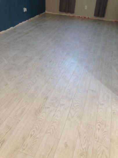Unique MARAZZI Montagna White Wash 6 in. x 24 in. Glazed Porcelain Floor  QL11