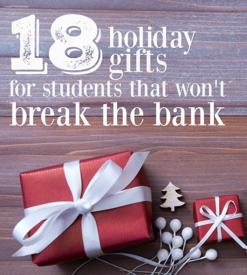 Christmas Gift For College Student: 50 Inexpensive Gift Ideas For Students