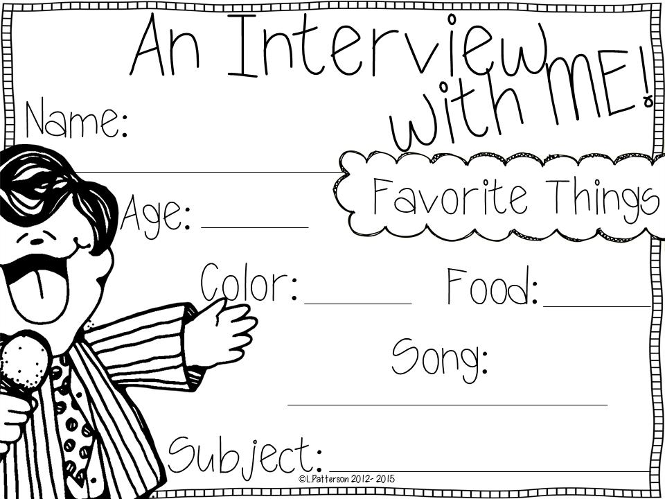 Memories of Me {A Kindergarten/First Grade Memory Book