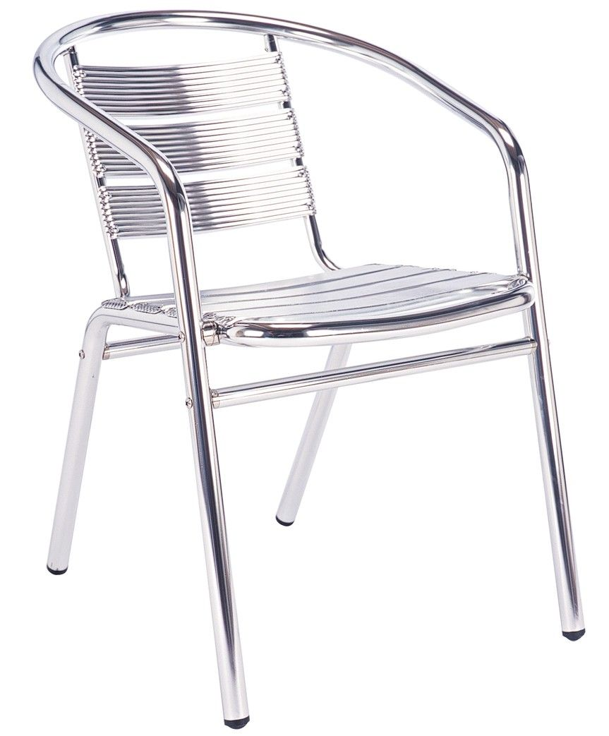 Outdoor cafe chairs - Aluminium Cafe Chair For Sale In Uk