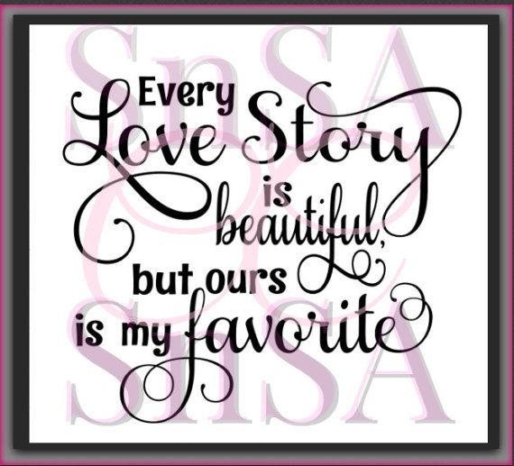 Download Love Story SVG Beautiful Favorite Heart by ...