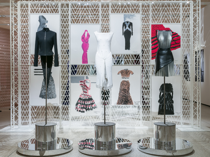 Celebrating Azzedine Alaia The Couturier At London S Design Museum Lh Mag In 2020 Museum Fashion Design Museum Design Museum London