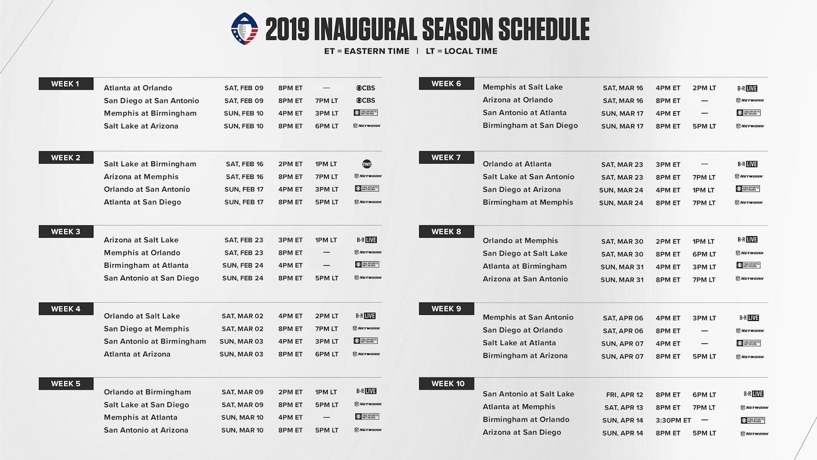 Printable Nfl Schedule For 2019 2020 In 2020 Printable Nfl Schedule Nfl Calendar Calendar Printables