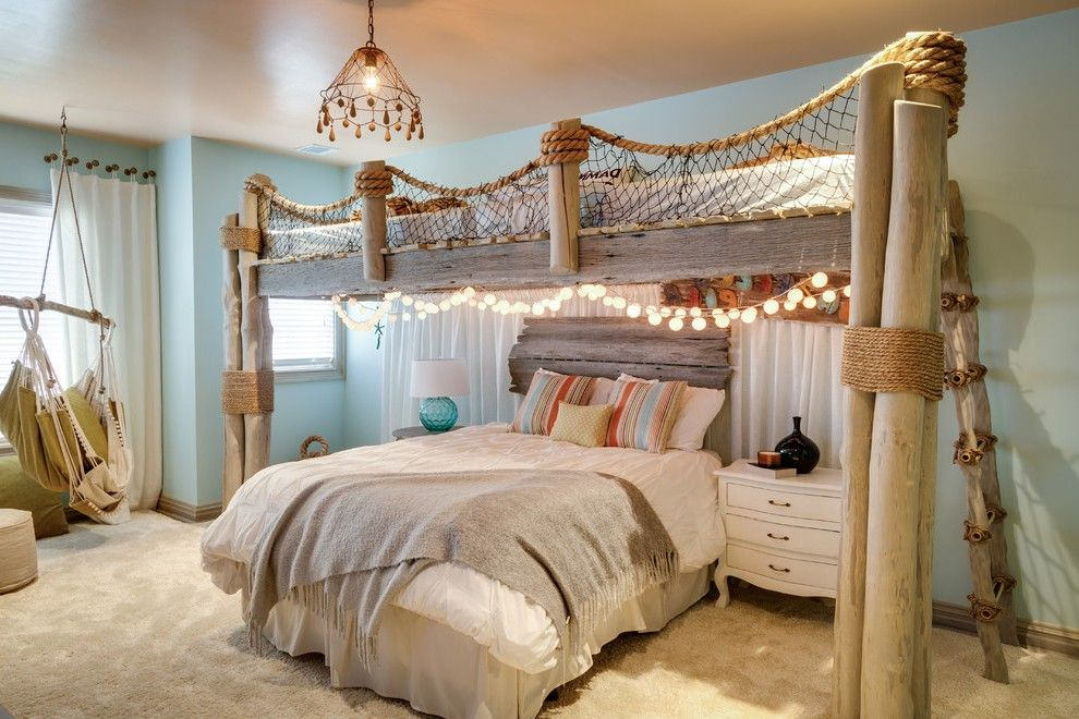 Beach Themed Bedroom For Childs Bedroom Themes Beach Bedroom