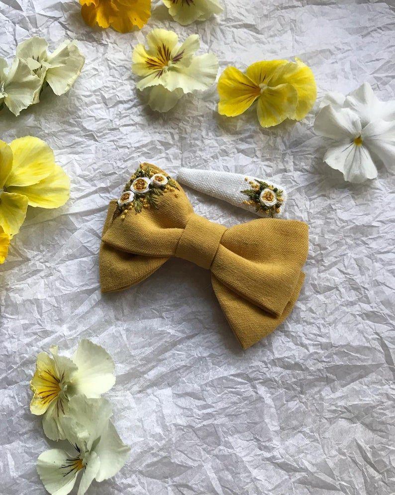 Handmade Designer Bow  Clip