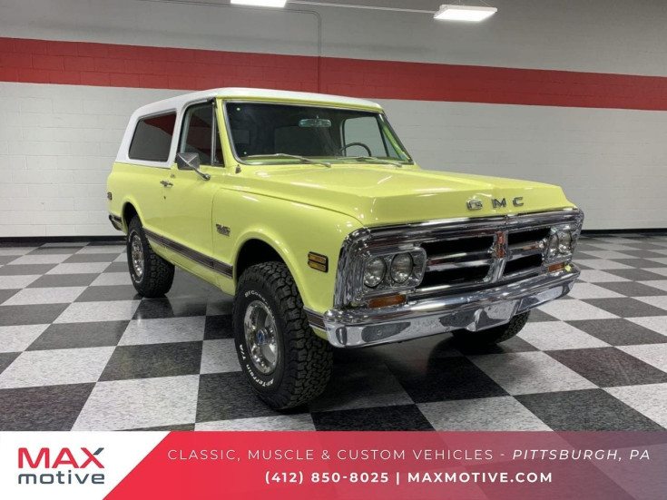 1971 Gmc Jimmy For Sale Near Cheswick Pennsylvania 15024