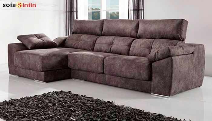 SOFASSINFIN decoraci³n Sofá chaiselongue modelo Memory de