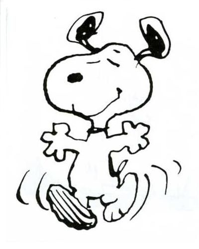Snoopy - The original Happy Dancer - The Charlie Brown Theory of ...