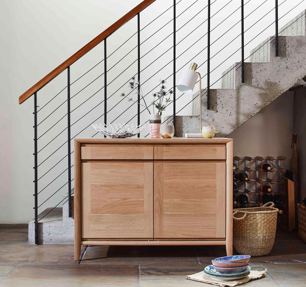Scandinavian Design Has Been Reworked For Ss18 This Time With A Nautical Flair From Furnit Modern Storage Furniture Storage Furniture Living Room Storage Unit