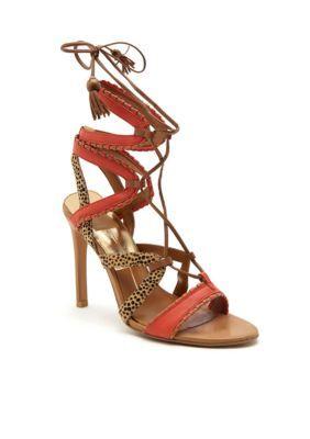 1c1c848c8c6 Dolce Vita Red Orange Haven Sandal Lace Up Sandals