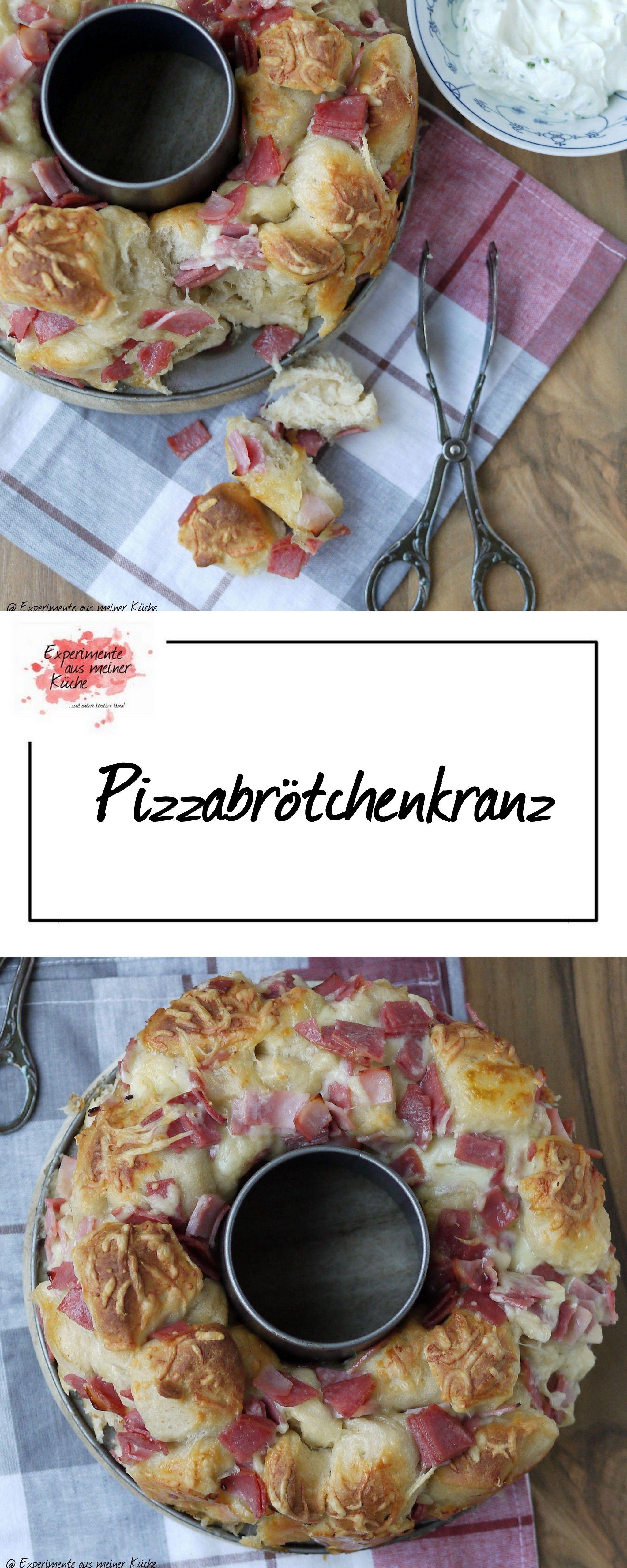 Bread Baking (Fri)day: Pizzabrötchenkranz