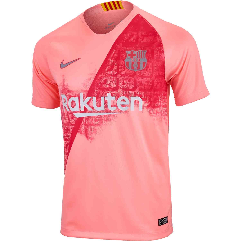 f6f426cdada 2018/19 Nike Kids Barcelona 3rd Jersey | Kids Licensed Soccer ...