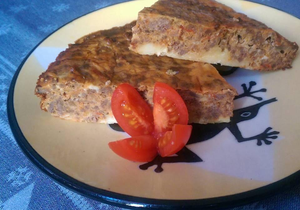 köttfärspaj utan pajskal